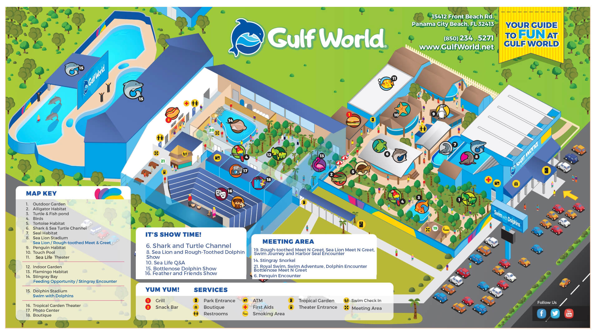 Show schedule gulf world marine park limited seating for these shows gumiabroncs Choice Image